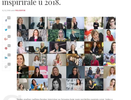 Women in Adria – Entrepreneurs who have inspired us in 2018